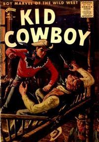 Cover Thumbnail for Kid Cowboy (St. John, 1953 series) #13