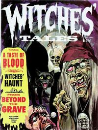 Cover Thumbnail for Witches Tales (Eerie Publications, 1969 series) #v1#8