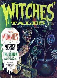 Cover Thumbnail for Witches Tales (Eerie Publications, 1969 series) #v2#1