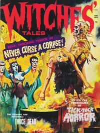 Cover Thumbnail for Witches Tales (Eerie Publications, 1969 series) #v6#3