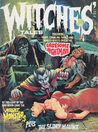 Cover for Witches Tales (Eerie Publications, 1969 series) #v7#1