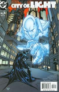 Cover for Batman: City of Light (DC, 2003 series) #3