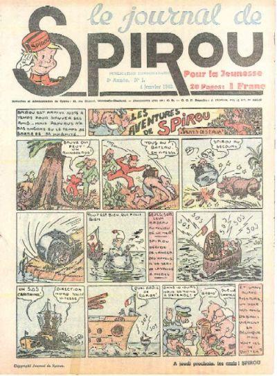 Cover for Le Journal de Spirou (Dupuis, 1938 series) #1/1940