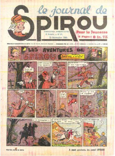 Cover for Le Journal de Spirou (Dupuis, 1938 series) #37/1940