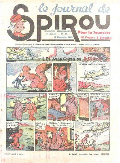 Cover for Le Journal de Spirou (Dupuis, 1938 series) #48/1940