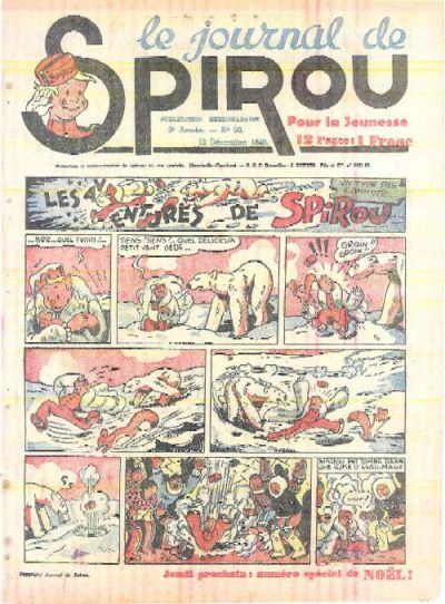 Cover for Le Journal de Spirou (Dupuis, 1938 series) #50/1940
