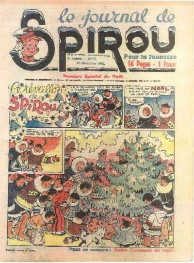 Cover for Le Journal de Spirou (Dupuis, 1938 series) #51/1940