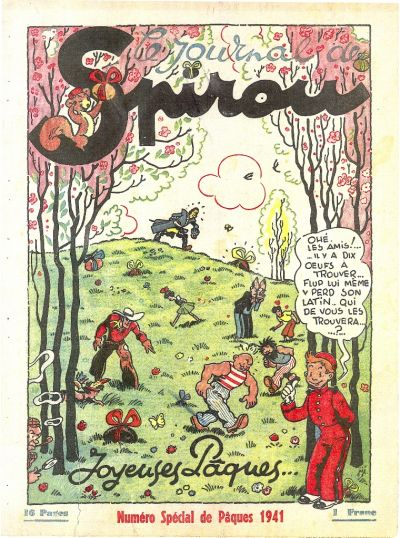 Cover for Le Journal de Spirou (Dupuis, 1938 series) #15/1941