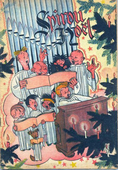 Cover for Le Journal de Spirou (Dupuis, 1938 series) #43/1945