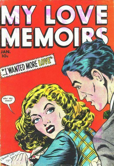 Cover for My Love Memoirs (Fox, 1949 series) #10