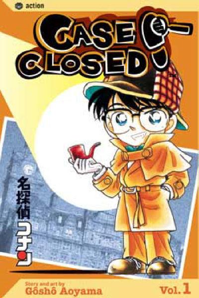 Cover for Case Closed (Viz, 2004 series) #1