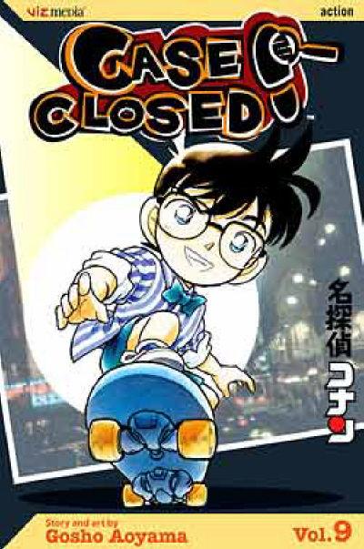 Cover for Case Closed (Viz, 2004 series) #9