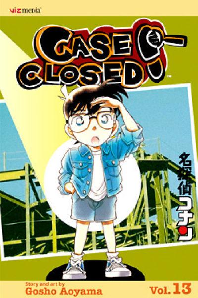 Cover for Case Closed (Viz, 2004 series) #13