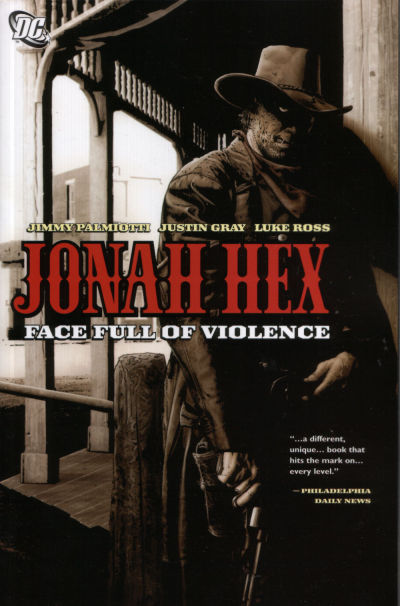 Cover for Jonah Hex: Face Full of Violence (DC, 2006 series)