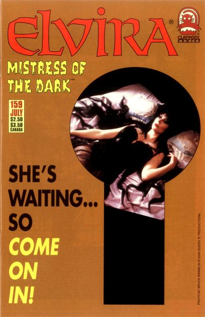 Cover for Elvira, Mistress of the Dark (Claypool Comics, 1993 series) #159
