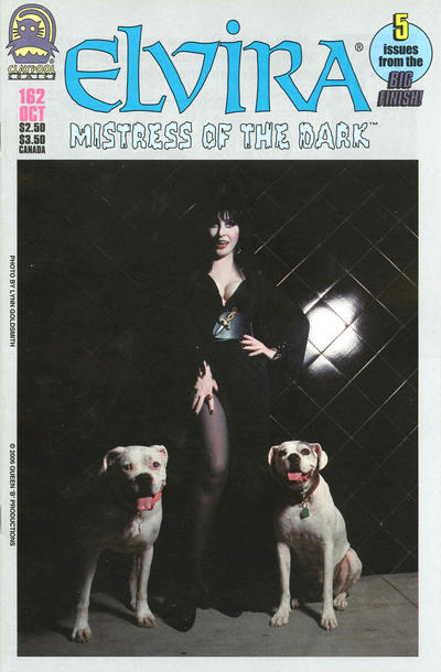 Cover for Elvira, Mistress of the Dark (Claypool Comics, 1993 series) #162