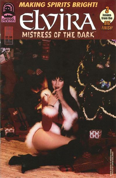 Cover for Elvira, Mistress of the Dark (Claypool Comics, 1993 series) #164