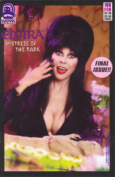 Cover for Elvira, Mistress of the Dark (Claypool Comics, 1993 series) #166