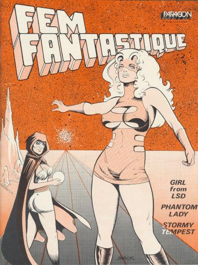 Cover for Fem Fantastique (AC, 1971 series) #2