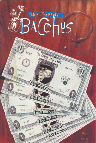 Cover for Eddie Campbell's Bacchus (Eddie Campbell Comics, 1995 series) #2