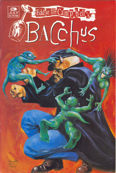 Cover for Eddie Campbell's Bacchus (Eddie Campbell Comics, 1995 series) #3