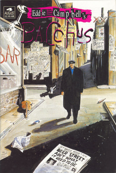 Cover for Eddie Campbell's Bacchus (Eddie Campbell Comics, 1995 series) #4