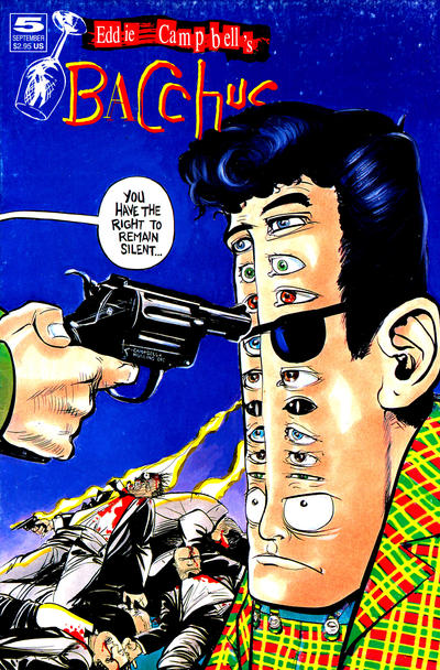 Cover for Eddie Campbell's Bacchus (Eddie Campbell Comics, 1995 series) #5