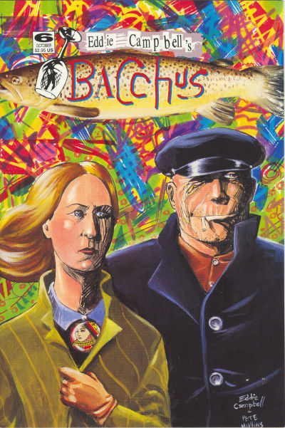 Cover for Eddie Campbell's Bacchus (Eddie Campbell Comics, 1995 series) #6
