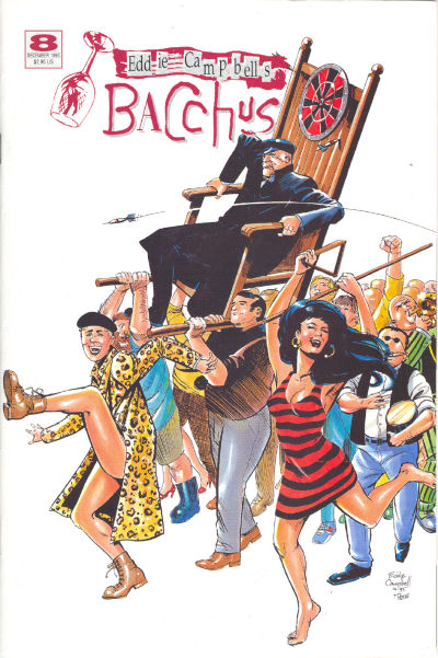 Cover for Eddie Campbell's Bacchus (Eddie Campbell Comics, 1995 series) #8