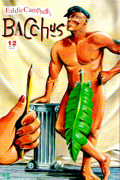 Cover for Eddie Campbell's Bacchus (Eddie Campbell Comics, 1995 series) #12