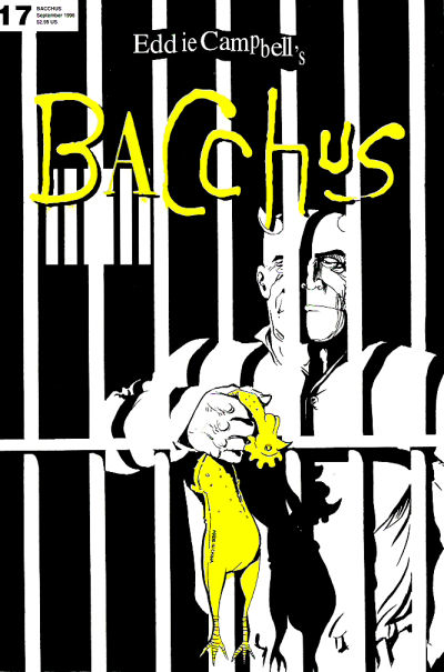 Cover for Eddie Campbell's Bacchus (Eddie Campbell Comics, 1995 series) #17