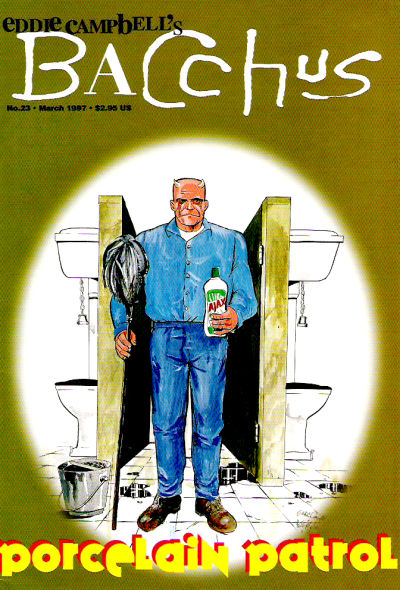 Cover for Eddie Campbell's Bacchus (Eddie Campbell Comics, 1995 series) #23