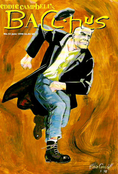 Cover for Eddie Campbell's Bacchus (Eddie Campbell Comics, 1995 series) #35