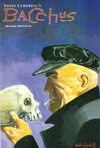Cover for Eddie Campbell's Bacchus (Eddie Campbell Comics, 1995 series) #36