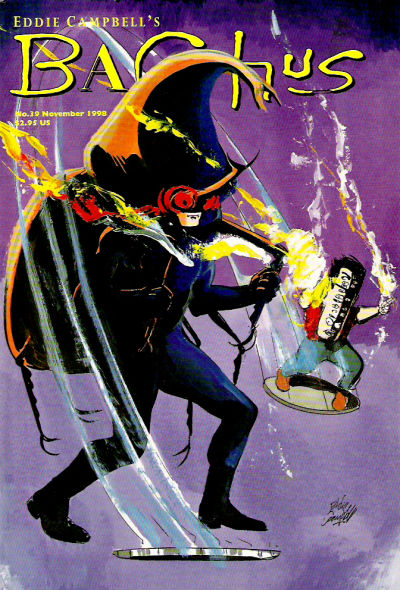 Cover for Eddie Campbell's Bacchus (Eddie Campbell Comics, 1995 series) #39