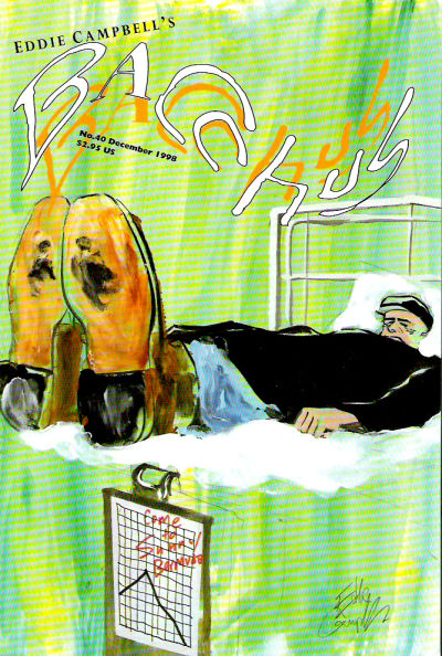 Cover for Eddie Campbell's Bacchus (Eddie Campbell Comics, 1995 series) #40