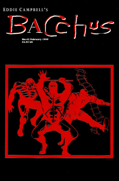 Cover for Eddie Campbell's Bacchus (Eddie Campbell Comics, 1995 series) #42