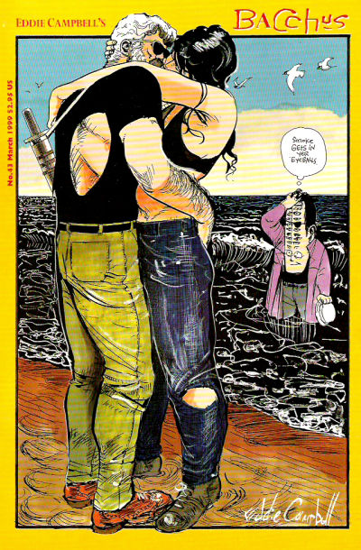 Cover for Eddie Campbell's Bacchus (Eddie Campbell Comics, 1995 series) #43