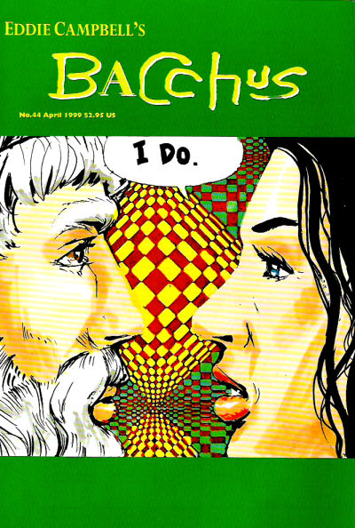 Cover for Eddie Campbell's Bacchus (Eddie Campbell Comics, 1995 series) #44