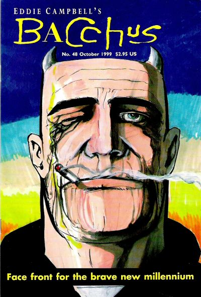 Cover for Eddie Campbell's Bacchus (Eddie Campbell Comics, 1995 series) #48