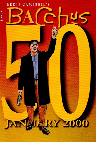 Cover for Eddie Campbell's Bacchus (Eddie Campbell Comics, 1995 series) #50
