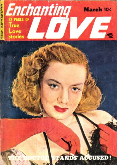 Cover for Enchanting Love (Kirby Publishing Co., 1949 series) #4