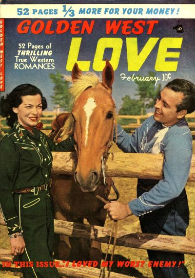 Cover for Golden West Love (Kirby Publishing Co., 1949 series) #3