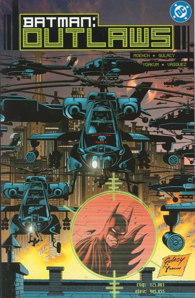 Cover for Batman: Outlaws (DC, 2000 series) #1
