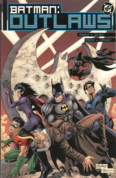 Cover for Batman: Outlaws (DC, 2000 series) #2