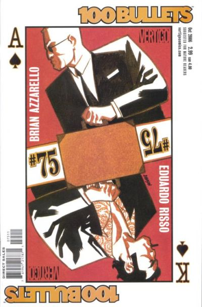 Cover for 100 Bullets (DC, 1999 series) #75