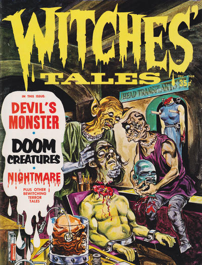 Cover for Witches Tales (Eerie Publications, 1969 series) #v1#9
