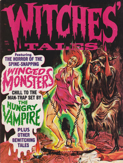Cover for Witches Tales (Eerie Publications, 1969 series) #v2#6