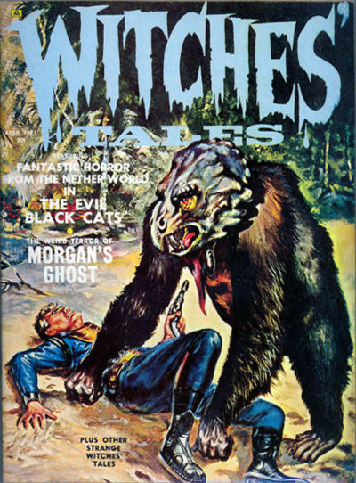 Cover for Witches Tales (Eerie Publications, 1969 series) #v3#2