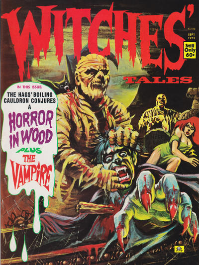 Cover for Witches Tales (Eerie Publications, 1969 series) #v5#5